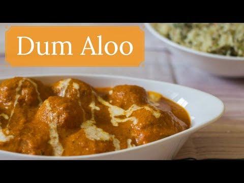 Dum Aloo in Hindi-Dum Aloo Banane ki Vidhi-Dum Aloo Restaurant Style-Kalimirchbysmita-Ep284