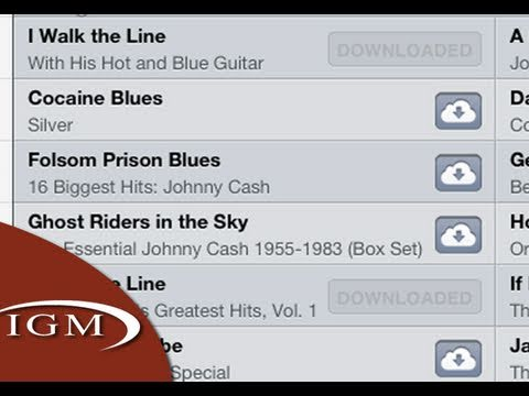 iTunes in the iCloud Demo - Download your iTunes songs from iCloud (First Look)