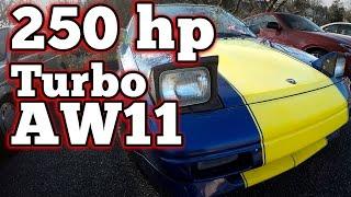 250hp Toyota MR2 AW11 Turbo