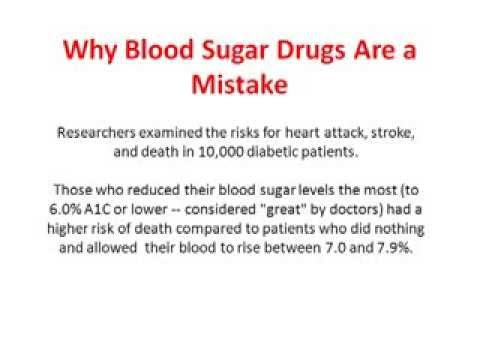 Why Blood Sugar Drugs Are A Mistake - How Does Diabetes Cause Heart Disease