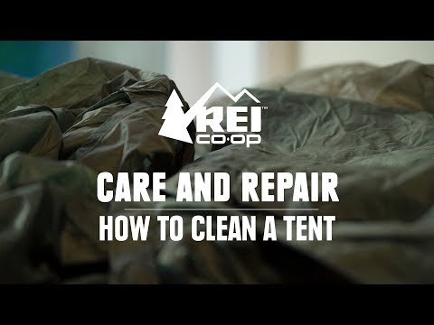 How to Clean a Tent || REI