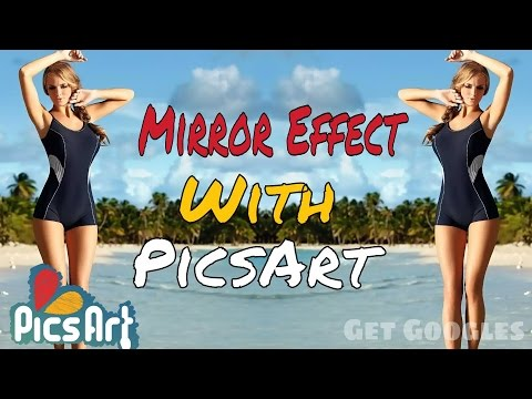 PicsArt | How to Give Mirror Effect to Photos on Android