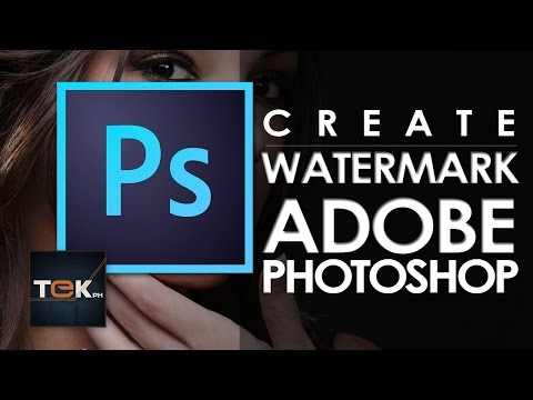 How to Create Watermark in Adobe Photoshop CC
