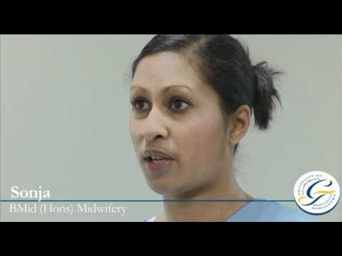 Midwifery degree & midwifery course: student interview