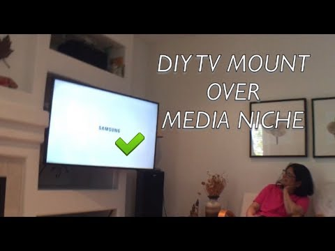 TV WALL MOUNT DIY VIDEO : BUCKET LIST CHECK