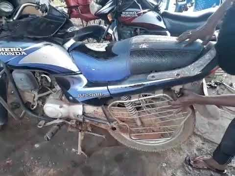 How to change clutch cable hero Honda passion plus telugu