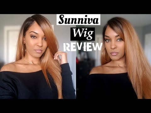My First Lace Frontal Wig!! Sunniva Review| ZitaRose