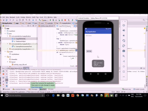 How to Read Existing SQLite Database in Android Studio App