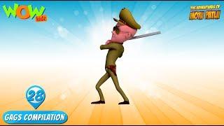 Motu Patlu - Funny Gags #28 - 1 hour episodes!