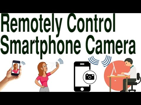 how to remotely control smartphone camera from anywhere via internet in hindi/urdu by free knowledge