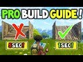 How to Build like a PRO In Fortnite Battle Royale V3.1+ (MASTER BUILDING Guide to help you WIN!)