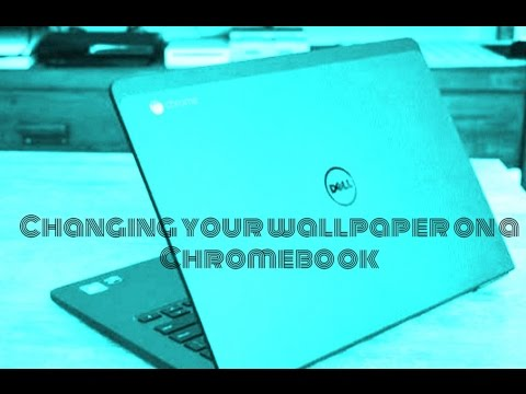 Changing your wallpaper on your Chromebook