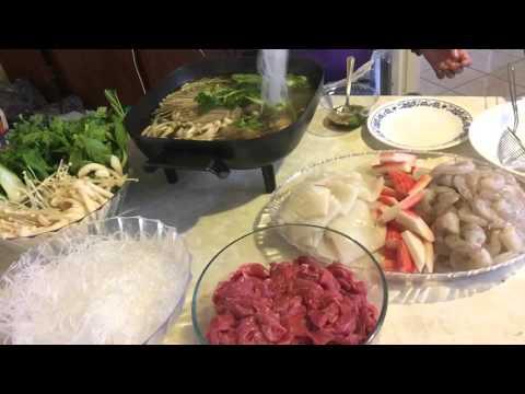 Cooking Laos Hotpot part 3