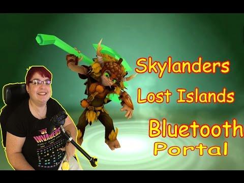 Skylanders Lost Island Bluetooth portal
