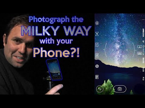 Photograph the Milky Way with a Smartphone tutorial