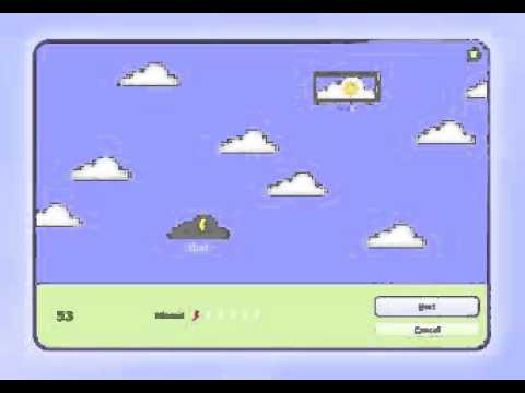Playing Clouds Typing Game Can Increase Speed Words Typing Skills