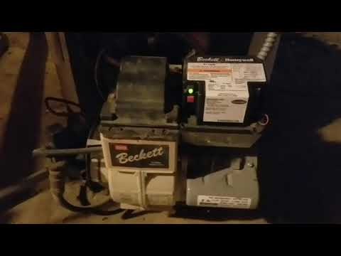 Oil fired water heater burner troubleshoot
