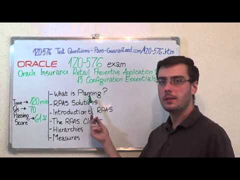 1Z0-576 – Oracle Exam Retail Predictive Application Test Server Questions