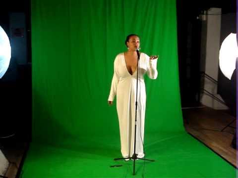 Monique Bingham recording with Kerri Chandler for Holograms Project