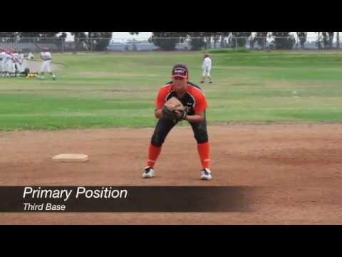 Julia Garcia Class of 2013 (Third Base, Second Base) - Softball Skill Video