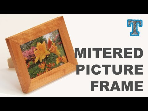 Quick Homemade Picture Frame
