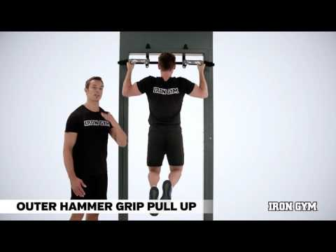 Outer Hammer Grip Pull Up - IRON GYM® Training Academy