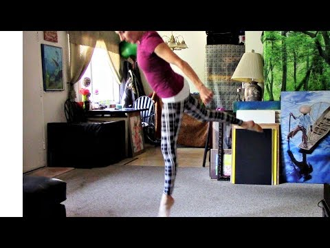 Side Aerial Home Workout/Flexibility Exercise Routine With Coach Meggin