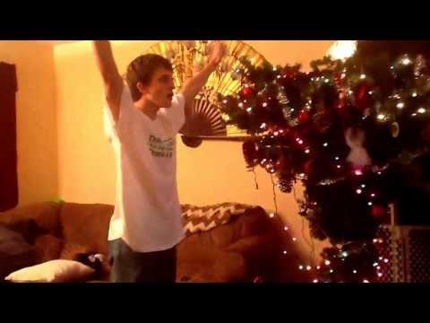 Trevor dancing 2012 Xmas