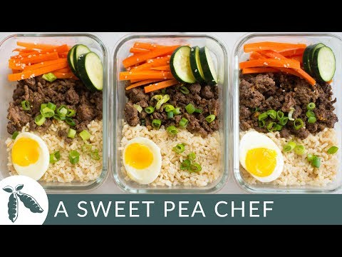 How To Meal Prep - Korean Beef Bowl (6 Meals/Under $4)