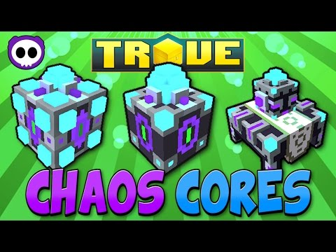 HOW CHAOS CORES WORK! WHERE TO GET / USE ✪ Trove Chaos Core Guide & Tutorial