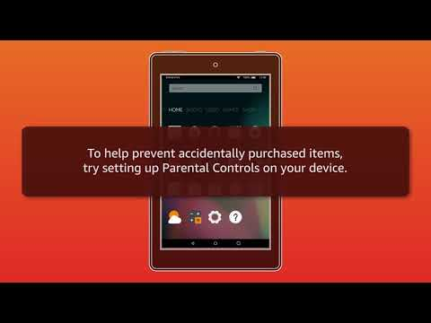 Amazon Fire Tablet: Cancel an Accidental Purchase