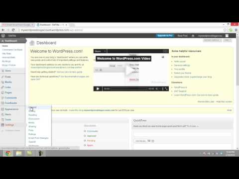 How to Change Wordpress Blog Title