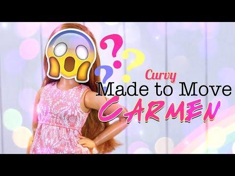 DIY - How to Make: CURVY Made to Move Carmen | CUSTOM DOLL