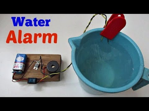 Water Level Indicator - How to make Water Level Indicator Using a Transistor Easy Way
