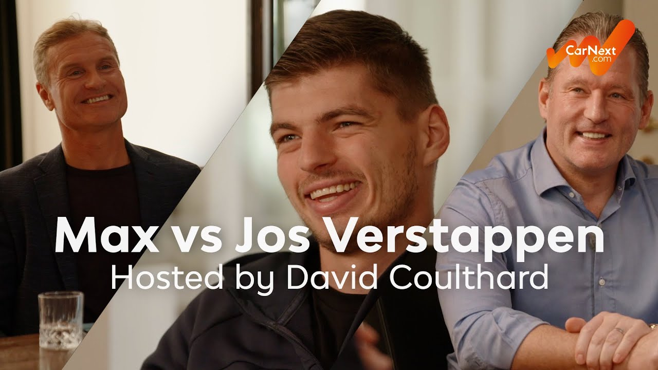 CarNext.com presents: Keeping Up with the Verstappens, ft. David Coulthard