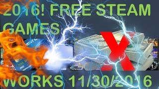 Free Steam Games No Credit Card 100 Working 2016 Late