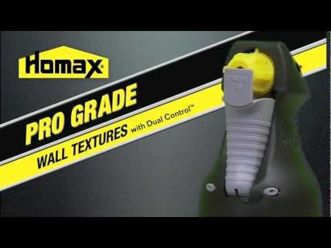 Homax® Pro Grade with Dual Control - English Version