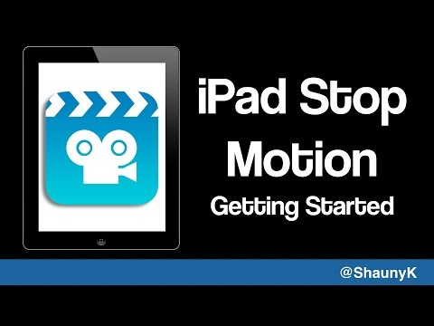 Getting started with stop motion on the iPad - Stop Motion Studio