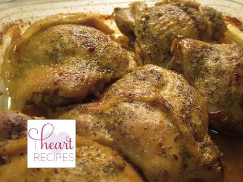 Honey Mustard Chicken Recipe - I Heart Recipes