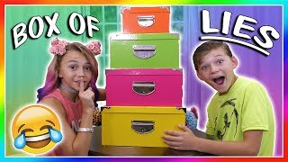 BOX OF LIES   OR IS IT?😜  We Are The Davises