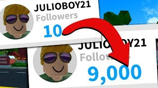 Trying to make someone a Roblox celebrity... *they