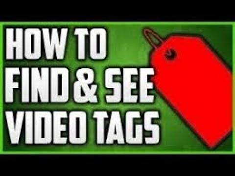 How to find someone's youtube video tag through computer or android phone