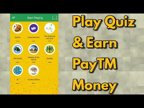 Play Quiz & Earn PayTM Money | Hindi