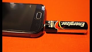 How to charge smartphone without charger  100% WORKING DIY Hack