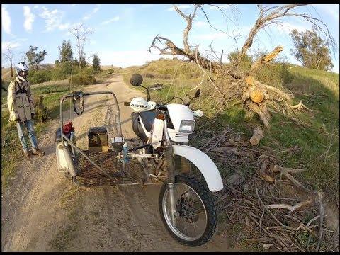 XR 650L Dual Sport Sidecar Off-Road