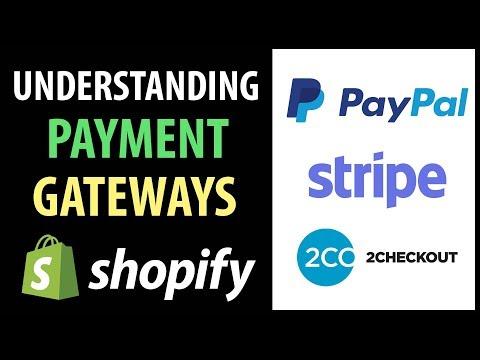 Understanding Shopify Payment Gateways   PayPal, Stripe, 2Checkout