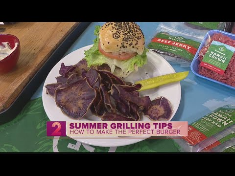 Summer Grilling Tips: The Perfect Burger with Local Beef