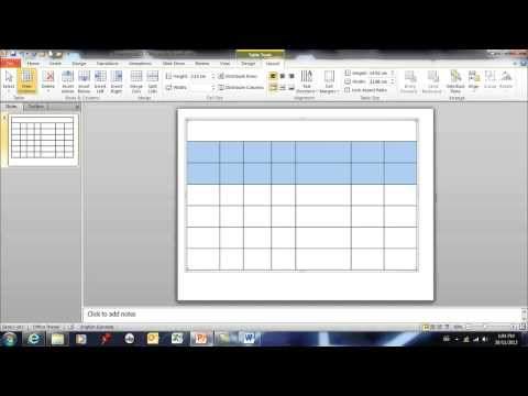 PowerPoint 2010 - tables 08