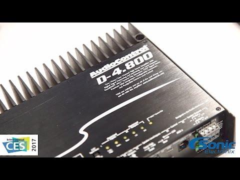 AudioControl D-4.800 Multi-Channel Amp w/ DSP Control & AccuBASS   CES 2017