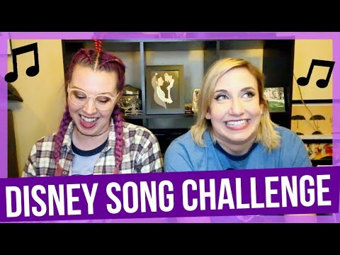 HARD Disney Song Challenge with Sarah Sterling